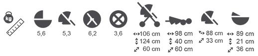 Adamex Monte wymiary i waga