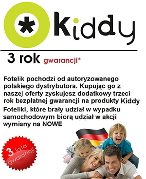 Kiddy Evolution pro 2 gwarancja i opinia